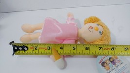 Angels On Assignment Soft plush doll pink dress ice cream cone Charity A... - $8.90