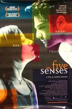 """1999 THE FIVE (5) SENSES Movie POSTER 27x40"""" Motion Picture Promo - $19.99"""