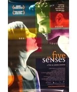 """1999 THE FIVE (5) SENSES Movie POSTER 27x40"""" Motion Picture Promo - $29.99"""
