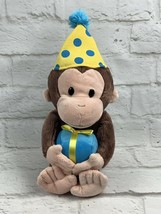 "GUND Retired 12"" CURIOUS GEORGE Plush Birthday Stuffed Animal Toy #4030390 - $10.99"