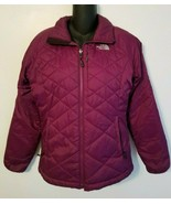 The North Face Womens Purple Primaloft Quilted Puffer Jacket Size Small - $39.99