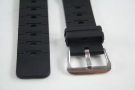 Watch Band  17mm Black Rubber Strap TS-100 TR-1 TR-10W TR-1EV  TS-1000 - $9.35