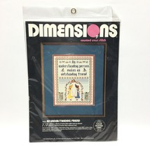 Dimensions An Understanding Friend Counted Cross Stitch Kit Friendship S... - $19.30