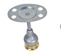 Moen Decorator Platinum/Polished Brass Pedestal Toothbrush Holder, 4704PMP - $19.99