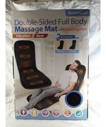 Health Touch Double Sided Full Body Massage Mat Vibration With Heat  - $25.00