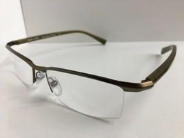 New ALAIN MIKLI AL 0888 AL0888 0006 56mm Bronze Semi-Rimless Eyeglasses Frame - $329.99