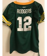 Girls Reebok NFL Team Apparel Green Bay Packers #12 Aaron Rodgers Youth L - $20.78