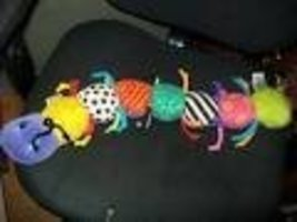 Lamaze Caterpillar Centipede Growth Measure Plush Rattle - $12.99