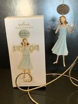 Hallmark Keepsake Ornament Friend Angel Down-to-Earth Angels 2009 - $7.50