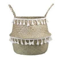 Boho Basket Seagrass Home Storage Tub Home Decor - £19.11 GBP+