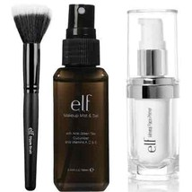 elf Studio Mineral Infused Face Primer With Makeup Mist and Set, Clear, ... - $26.26