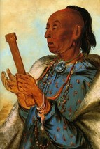Cock Turkey Repeating His Prayer Usa American Indian 1830 By George Catlin Repro - $10.96+