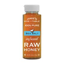 Jamie's Hive to Table Sea Salt Infused Raw Honey Pure Honey 12 oz - $12.00