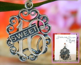 Vintage Sweet 16 Birthday Bracelet Charm Sterling Silver Beaucraft - $14.95