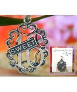 Vintage sweet 16 birthday bracelet charm sterling silver beaucraft thumbtall