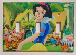 Princess Snow White Light Switch Power Duplex Outlet Wall Cover Plate Home decor image 4