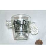 RARE Truckee California CA Take Your Shot Pistol Gun Revolver Drink Shot... - $19.78