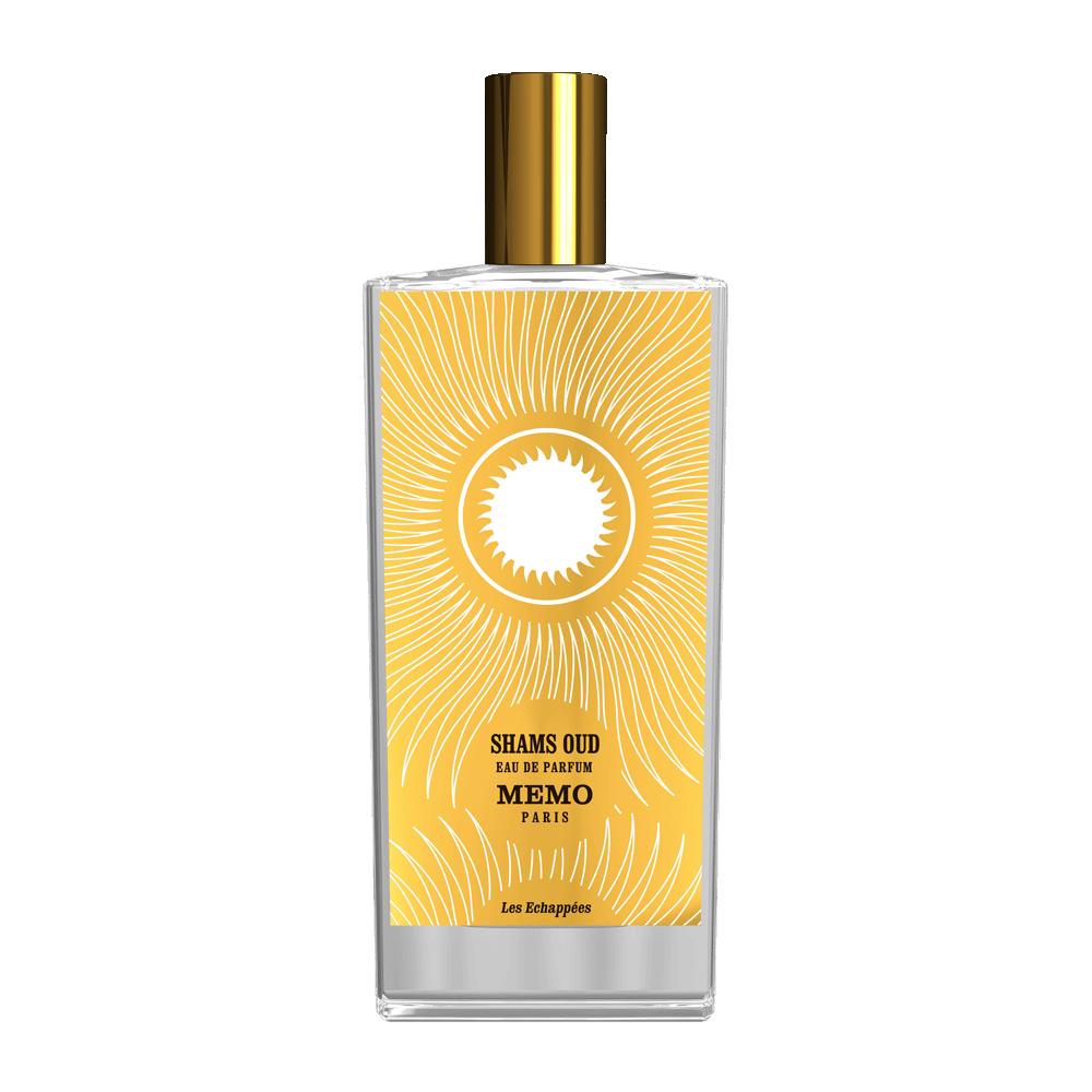 SHAMS OUD by MEMO 5ml Travel Spray Perfume GINGER VETIVER STYRAX TOLU SAFFRON