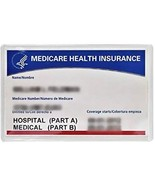 New Medicare Card Holder Protector Sleeve Clear 6 Mil (5) - $17.87