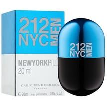 212 New York Men Pills by Carolina Herrera, 0.68 oz 20 ml Eau de Toilett... - $27.55
