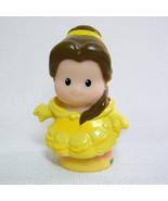 Fisher Price Little People BELLE Beauty & Beast Disney Princess Songs & ... - $4.00