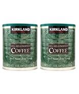 2 Packs Kirkland Signature Arabica Decaffeinated Coffee 3 LB total 6 LB ... - $38.49