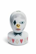 Lladro Porcelain 01007264 The Masquerade II Bud Vase. Retired New Box 01007264 - $374.00