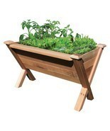 Raised Elevated Planter Box Garden Patio Deck M... - £138.12 GBP