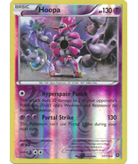 Hoopa 51/114 Rare Reverse Holo XY Steam Siege Pokemon Card - $1.29