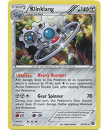 Klinklang 73/114 Holo Rare XY Steam Siege Pokemon Card - $1.19