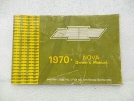 1970 NOVA Owners Manual 15971 - $18.76