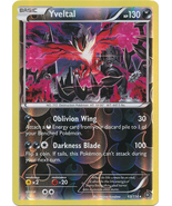 Yveltal 65/114 Rare Reverse Holo XY Steam Siege Pokemon Card - $3.59