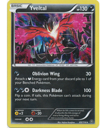 Yveltal 65/114 Holo Rare XY Steam Siege Pokemon Card - $1.59