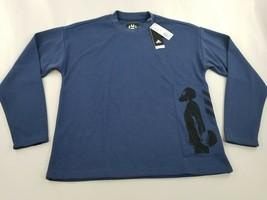 new Adidas women sweatshirt CE7316 James Harden NBA basketball blue M - $36.71