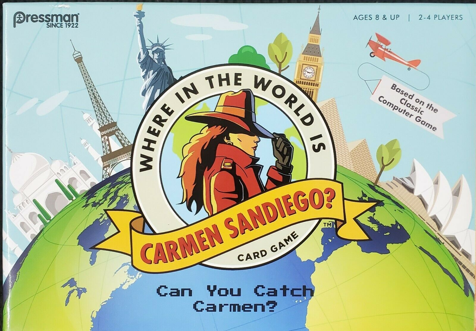 Primary image for Pressman Where in the World is Carmen Sandiego? Card Game NEW