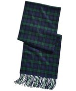 Club Room Men's Plaid Cashmere Scarf (Green/Blue, One Size) - $36.06