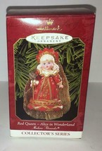 1999 Hallmark Ornament Red Queen Alice In Wonderland Madame Alexander Doll - $10.88