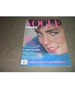 1979 Vogue Magazine Fashion, Accessories w Gia Carangi photos;  Esme cov... - $39.49