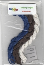 SILK FLOSS PACK for Remember cross stitch chart Dinky Dyes - $12.15