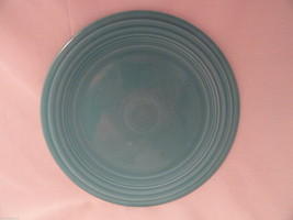 Original Turquoise Fiesta 9.5 in Plate VG condition - $7.99