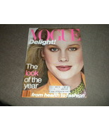 1978 Vogue Magazine Fashion, Accessories, Beauty w  Roseanne Vela cover NF - $39.49