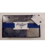 3 LUCKY BRAND MEN'S COTTON BOXER BRIEFS BLUE GRAY - SIZES: S M L XL IN G... - $26.50