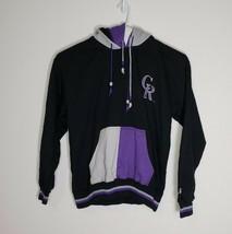 Colorado Rockies Starter Vintage Baseball Jacket MLB Duo Hood Size L - $98.99
