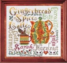 Autumn Aromas cross stitch chart Tempting Tangles - $9.00