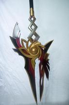 Elsword Ara Yama Raja Spear Cosplay Weapon Prop for Sale - $240.00