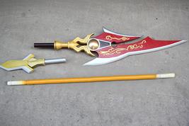 Elsword Ara Haan Little Xia Spear Cosplay Weapon Prop Buy - $170.00