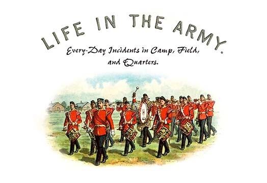 Primary image for Life in the Army: Every Day Incidents in Camp, Field, and Quarters by Richard Si