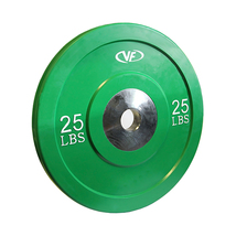 Valor Fitness Exercise Equipment XBumper Plate (Solid Green) 2 - $188.75
