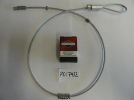 SNAPPER CLUTCH BRAKE CABLE 7017432 GENUINE SNAPPER 17432 BRIGGS & STRATTON - $18.34