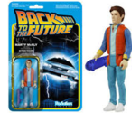 Back to the Future Marty McFly Funko Reaction Articulated Action Figure MOC